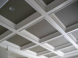 Tray Ceiling Cost Interior Design Coffered Ceiling Cost With Grey And White