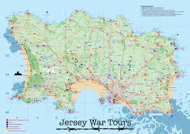 The High Line Map Jersey War Tours Map