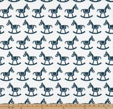Horse Curtain Rod by Blue Valance Rocking Horse White And Navy Curtain Window