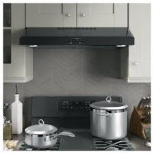 ge under cabinet range hood ge 30 in under the cabinet range hood in black jvx5300djbb the