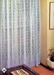 Crochet Curtain Designs 529 Best Crochet Curtains Images On Pinterest Crochet Curtains