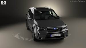subaru forester touring 2016 360 view of subaru forester xt touring 2016 3d model hum3d store