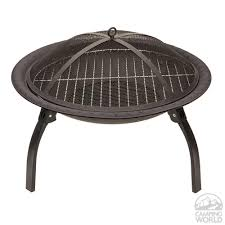 portable outdoor fire pit direcsource ltd 100704 fire pits