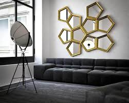 Living Room Wall Modern Ideas Decorative Wall Mirrors For Living Room Spectacular