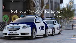 opel vauxhall finnish police poliisi opel vauxhall insignia gta5 mods com