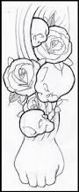 skulls and roses tattoo design by thirteen7s on deviantart