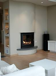 cheminee moderne design cheminées cheminée moderne arrondie au meilleur prix cheminées