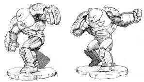 hulkbuster ironman digital painting practice insigne inkblot
