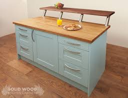 solid wood kitchen island how to create a kitchen island with solid oak kitchen cabinets solid
