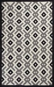 Black And White Striped Outdoor Rug by Black And White Rug Modern Rugs