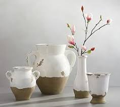 Small Decorative Vases Decorative Vases U0026 Faux Flowers Pottery Barn