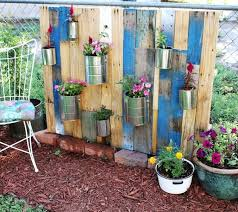 How To Build Vertical Garden - how to build a small vertical garden from wooden pallets