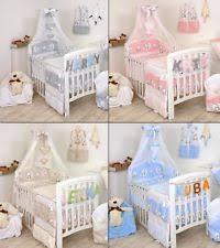 Baby Boy Cot Bedding Sets Moon Nursery Bedding Sets Ebay