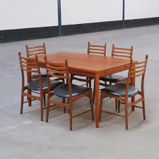 vintage scandinavian dining set 1960s for sale at pamono