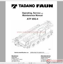 tadano mobile crane full shop manual dvd auto repair manual