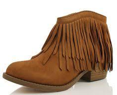 Comfortable Western Boots Soda Women U0027s Fringe Ankle Boot Slip On Comfortable Western Heel