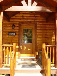 Green Exterior Door Rustic Lodge Log And Timber Furniture Handcrafted From Green