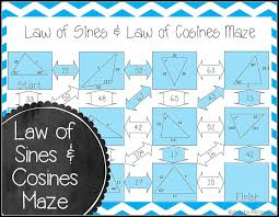 love using mazes in the geometry classroom this law of sines