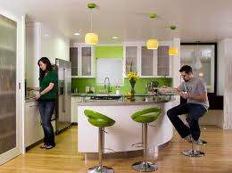 breathtaking green kitchen island stools with counter depth side