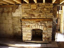 stacked stone fireplace designs ideas