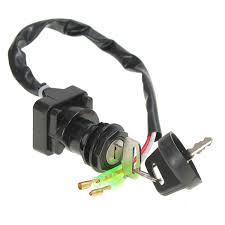 motorcycle ignition switch with 2 keys for kawasaki bayou 220