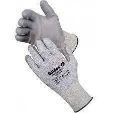 gant de protection cuisine anti coupure gants coupure support tricoté phd135pu lot de 10 paires taille