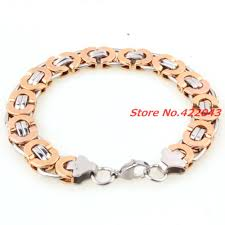 stainless steel bracelet price images Factory price fashion men bracelets jewelry silver rose gold jpg