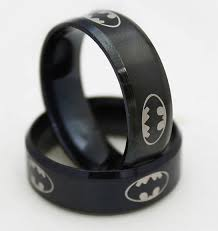 Batman Wedding Rings by Batman Ring Batman Wedding Ring Superhero Ring Stainless