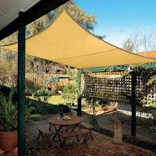 Wind Sail Patio Covers by Coolaroo Coolhaven 12 Ft Square Shade Sail Hayneedle