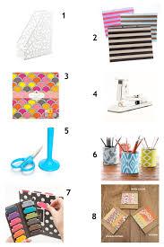 Chic Desk Accessories by Just The Pretty Things Chic Desk Accessories
