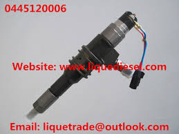 bosch common rail injector 0445120006 for mitsubishi 6m70 me355278