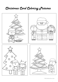 31 free esl christmas cards worksheets