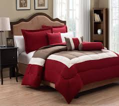 6 king tranquil and taupe comforter set