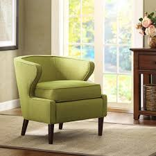 Green Accent Chair Lucca Light Green Extended Arm Chair Contemporary Armchairs Green
