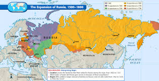 Alaska Russia Map by Map Of Russian Holdings Showing Which Territory Was Joined To