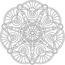 heart mandala coloring pages colouring detailed advanced