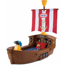 Little Tikes Football Toy Box Little Tikes Pirate Ship Toddler Bed Walmart Com