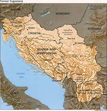 Europe Map Ww1 Maps Of Bosnia And Herzegovina