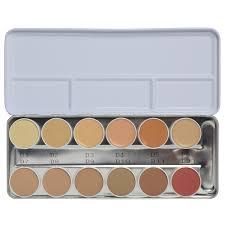 kryolan professional make up kryolan professional make up dermacolor camouflage creme palette
