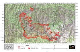 Elgin Oregon Wildfire by Grizzly Bear Complex Update August 21 Fire Grows Less Than Aug