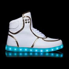 led light up shoes for boys kids flash led light up dance shoes high tops white sale for cheap