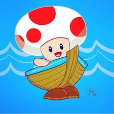 boat toad mario party 2 meganstarr deviantart
