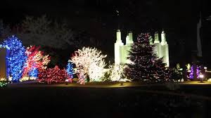 christmas lights in maryland mormon temple festival of lights 2011 youtube