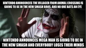 Animal Crossing Villager Meme - nintendo annnounces the villager from animal crossing is going to