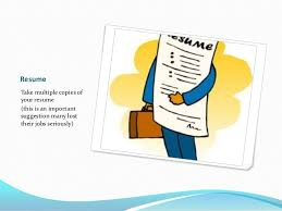 Take Resume To Interview What Are The Things To Take To Interview