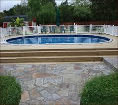 decks around above ground pools home design ideas
