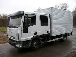 iveco eurocargo ml80e18 with double cabin servicetruck tr d