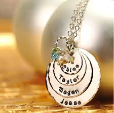 mothers day jewelry personalized s day exclusive color personalized pendant