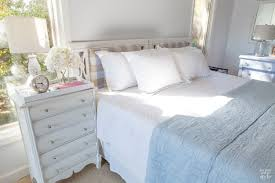 How To Put Duvet Cover Use What You Have Decorating Cushioned Headboard In My Own Style