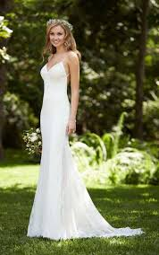 low back wedding dresses dramatic low back wedding dress stella york wedding dresses